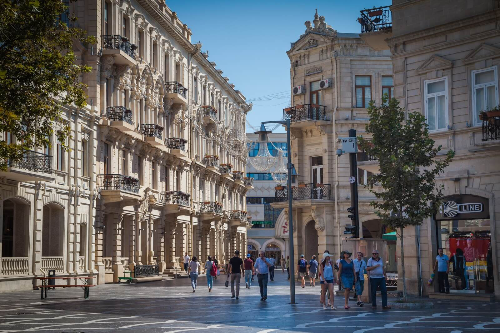 Baku Downtown Original Walking Tour